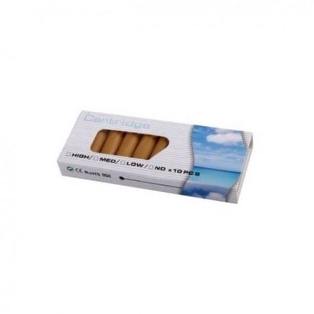 10 Recharges Pour Cigarettes Lectroniques Go T Tabac Blond Tendance Plus