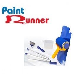 Paint Runner - Rouleau avec réservoir anti-gouttes + manche à rallonge extensible