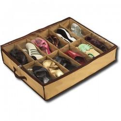 Range chaussures (12 paires) - Organisateur de chaussures