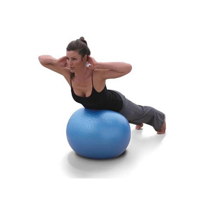 Ballon de yoga pilates swiss ball tendance plus for Housse ballon yoga