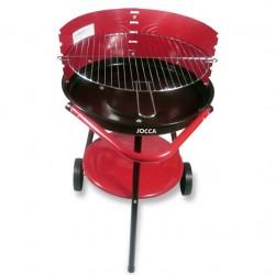 Barbecue de jardin à roulettes