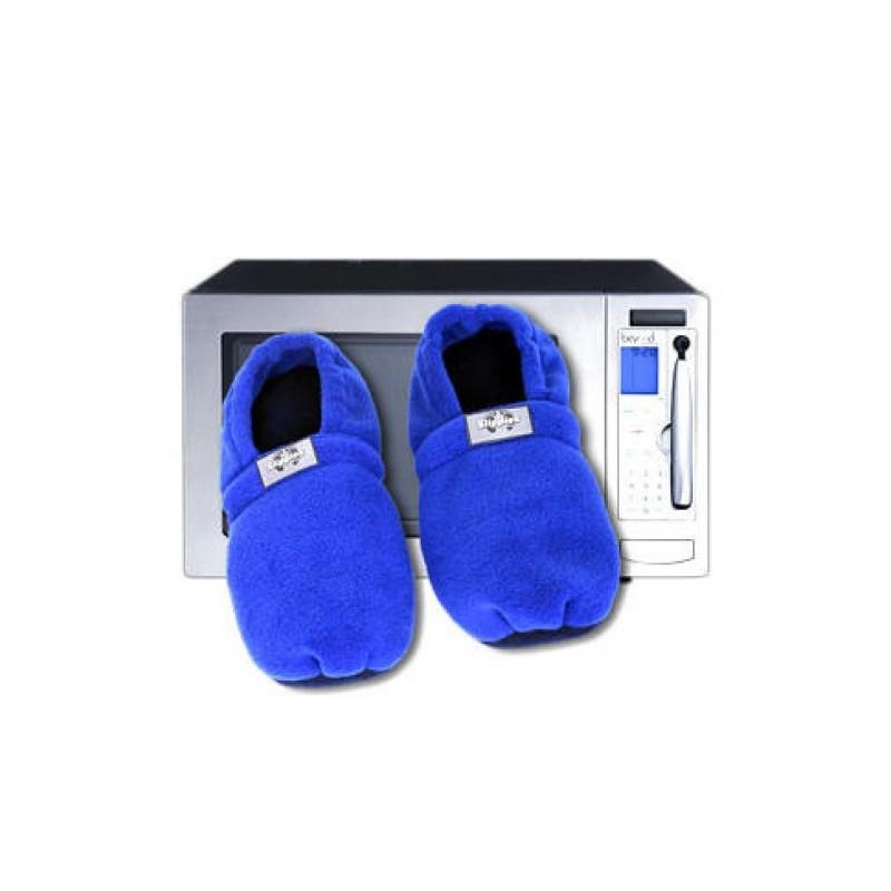 chaussons chauffants au micro ondes bleus taille 36 40 tendance plus. Black Bedroom Furniture Sets. Home Design Ideas