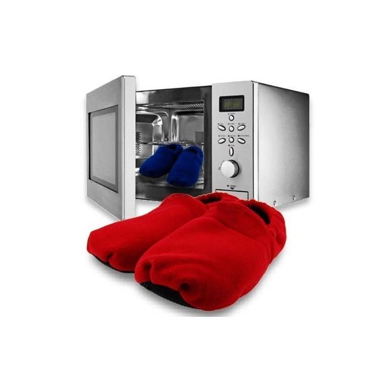 chaussons chauffants au micro ondes rouges taille 36 40 tendance plus. Black Bedroom Furniture Sets. Home Design Ideas