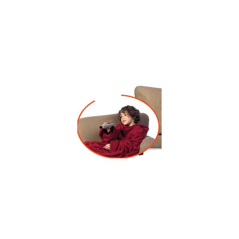 couverture manches polaire rouge pour enfant tendance plus. Black Bedroom Furniture Sets. Home Design Ideas