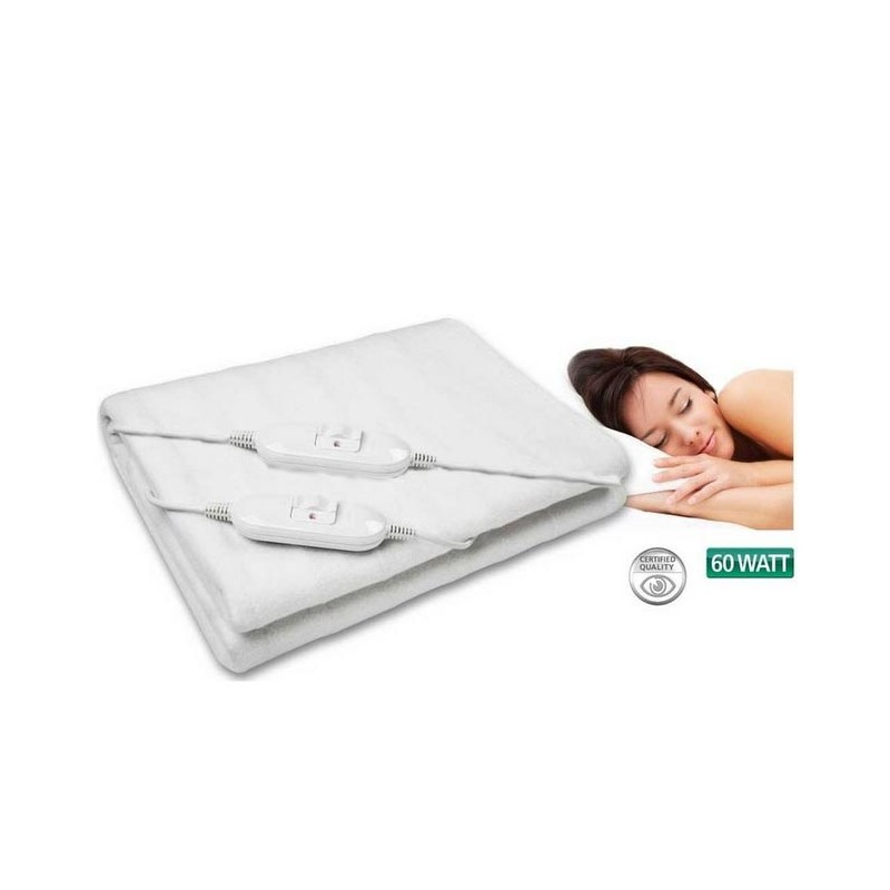 couverture chauffante lectrique 160 x 140 cm tendance plus. Black Bedroom Furniture Sets. Home Design Ideas