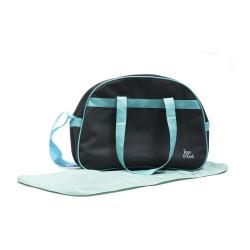 Sac à langer avec tapis gis-turquoise