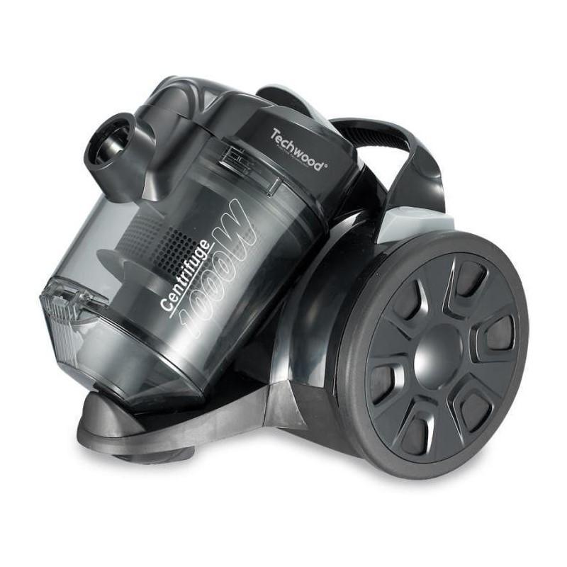 aspirateur sans sac eco noir 1000 w techwood tendance plus. Black Bedroom Furniture Sets. Home Design Ideas