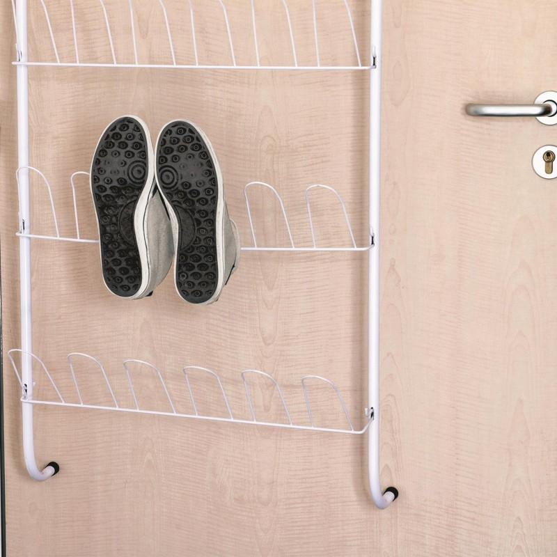 Range chaussures de porte pour 18 paires tendance plus - Range chaussures porte ...