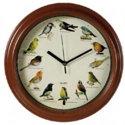 Horloge pendule murale avec mélodie des oiseaux