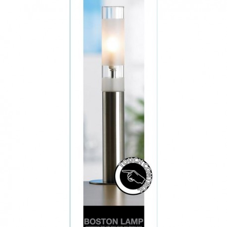 Lampe tactile design Boston