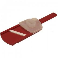 Mandoline en céramique rouge