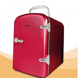 Mini frigo portable 4 L - 6 canettes pour voiture ou maison