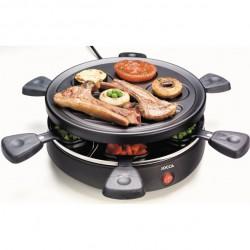 Raclette grill avec plancha (2 en 1)