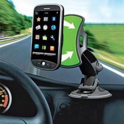 Support téléphone et GPS universel pour voiture