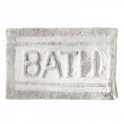 Tapis de salle de bain Bath blanc 80 x 50 cm