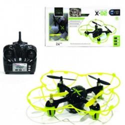 Drone avec télécommande et caméra vert