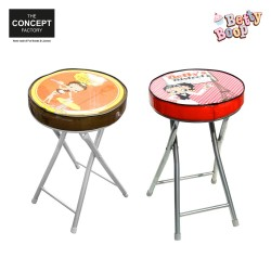 Tabouret pliable Betty Boop