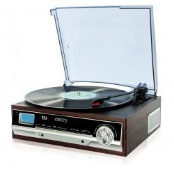 Platine tourne disque avec radio