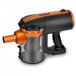 Aspirateur balai à main 600W orange - Techwood