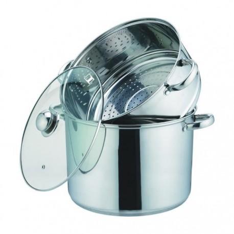 Couscoussier 10 litres inox