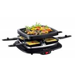 RACLETTE GRILL 4 PERS. MOULINEX