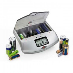 Chargeur de piles universel (également piles non rechargeables)