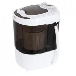 Mini machine à laver 3 kg avec essorage blanche
