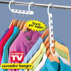 Cintres Magic hanger ( Lot de 8)